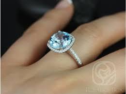 blue topaz engagement rings rosados box barra 10mm 14kt white gold blue topaz and diamond