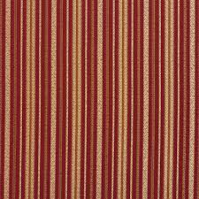 Stripe Drapery Fabric E603 Striped Red Gold And Green Damask Upholstery Fabric By The