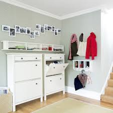 shoe storage in the entry u2013 stylish shelving idea homesfeed