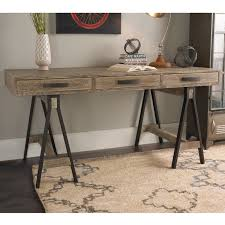 Distressed Office Desk Rustic Distressed Wood Office Desk Shades Of Light