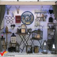 Shabby Chic Home Decor Wholesale set 2 shabby chic white clear glass panel wooden candle lantern