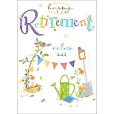 retirement card retirement card from ocado
