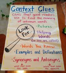 13 best context clues images on pinterest