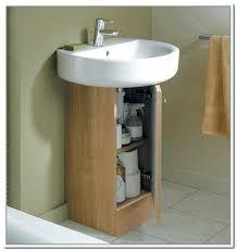 Narrow Bathroom Sink Strikingly Cabinets For Pedestal Bathroom Sinks Cute Design Of