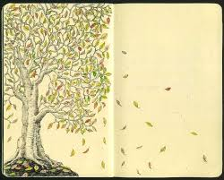 autumn design draw illustration moleskine skine art drawing