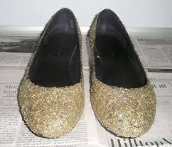 How To Decorate Shoes How To Glitterize A Pair Of Shoes 11 Steps With Pictures