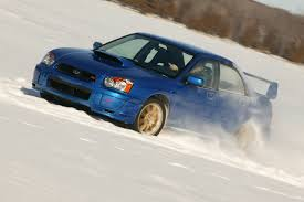 subaru rally snow ultimate sleigh ride subaru impreza wrx sti
