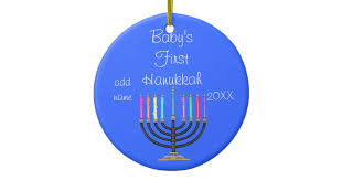 baby s hanukkah ornament zazzle
