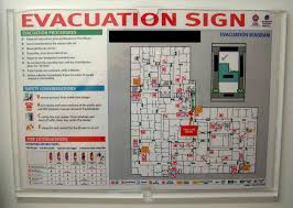 a floor plan fire evacuation template emergency hotel floorplan