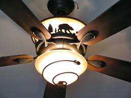 Lodge Ceiling Fans With Lights Lodge Ceiling Fans With Lights Home Rustic Image Of Ls Gorgeous