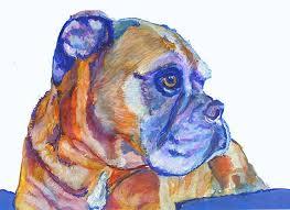 boxer dog art boxer dog wall art boxer dog mom boxer dog gift boxer dog