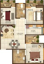 1350 sq ft 3 bhk 2t apartment for sale in aftek group greens