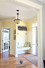 best yellow paint colour benjamin moore buttermilk oak flooring
