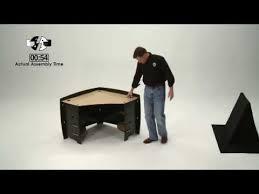no tools assembly desk legare corner desk assembly from simonhelene com youtube
