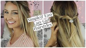 26 lazy hairstyling hacks simple u0026 easy lazy hairstyles youtube