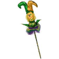 jester mardi gras mardi gras jester on a stick 12 hg1005dl craftoutlet