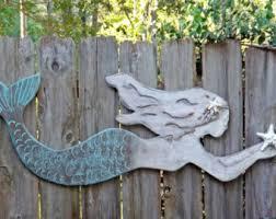 wood mermaid wall decor lavenderx large mermaid mermaid