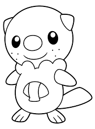 pokemon characters black and white coloring pages coloring home