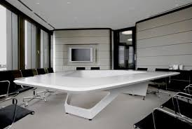 modern conference table design the media news room