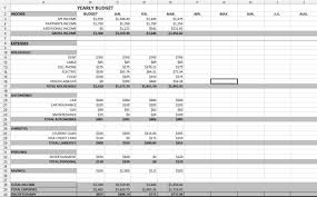 sample household budget excel and sample budget spreadsheet