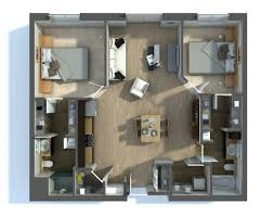 two apartment floor plans 20 two bedroom apartment plans home design lover