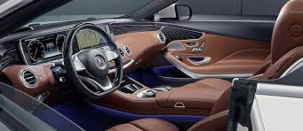 mercedes interior the mercedes s550 cabriolet s stunning interior