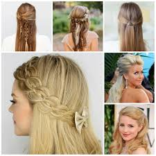 new half updo hairstyle trends 2017 hairstyles 2017 new haircuts