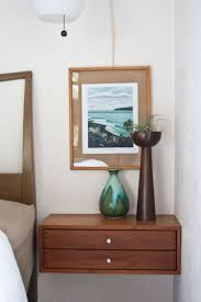 bedroom glass bedside table wall mounted bedside table 30