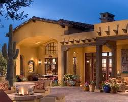 southwest style house plans pueblo style home exterior picasso model in desert community