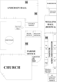 Mesa Arizona Map by Campus Map Holy Cross Catholic Church Mesa Az