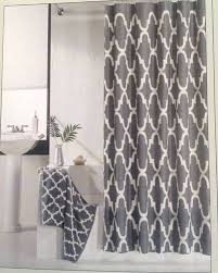 pure white and gray curtains for the incredible look inside your