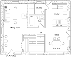 Mountain House Floor Plans by 3 Bedroom Earthbag House Plans