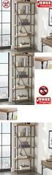 sauder premier 5 shelf composite wood bookcase furniture home king bookcase headboard furniture decor best