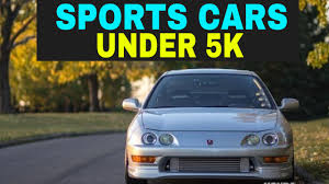 25 amazing cars cheaper than top 10 fastest cars under 5k youtube