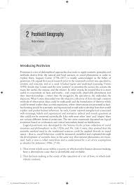 positivist geography pdf download available