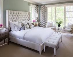 Floor To Ceiling Headboard Bedroom Tufted Headboard Upholstered Bed Frame White Bedding
