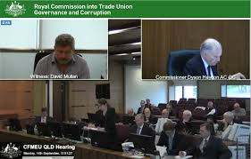 trade union royal commission qld cfmeu hearings about to commence