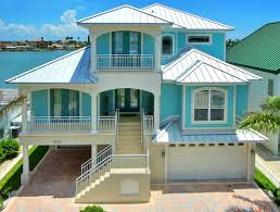 beach style house plans i love this florida keys home the color scheme is perfect for the