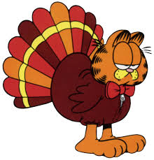 garfield thanksgiving clipart clipartxtras