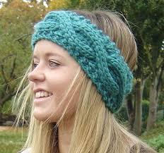 headband ear warmer knitting pattern cable headband ear warmer easy beginner knit