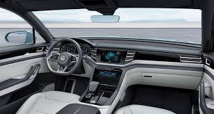 volkswagen tiguan 2015 interior 2015 volkswagen cross coupe gte concepts