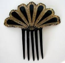 vintage hair combs 588 best vintage hair ornaments images on hair
