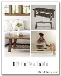 diy coffee table by build basic u2013 display frame u2039 build basic