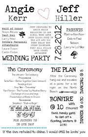 exle of wedding program 167 best k z wedding print ideas images on wedding