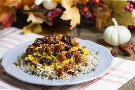 lentil date rice for thanksgiving dinner this year sofabfood