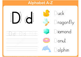 letter d tracing worksheet free printable puzzle games