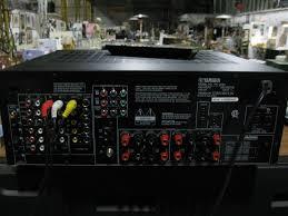 yamaha amplifier home theater yamaha rx v550 av receiver home theater monster