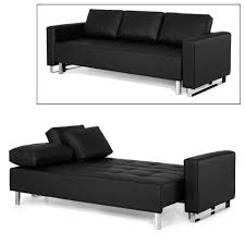 Sofa Beds With Mattress by Furniture Futon Sofa Bed With Storage Faux Leather Futon