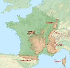 Mountain Map File Mountain Ranges Of France Map Fr Svg Wikimedia Commons