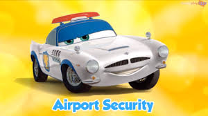 fin mcmissile disney pixar cars fast as lightning 49 finn mcmissile airport
